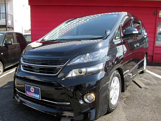 トヨタ 2.4Zゴールデンアイズ4WD 純HDD 車高調 1オーナー