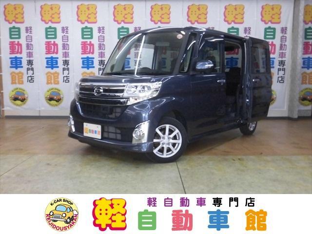 ダイハツ カスタムX SAII ナビ・TV ABS スマキー  4WD