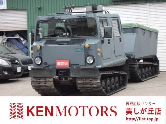 ヘグランドBV206S 全地形車輌 水陸両用(1枚目)