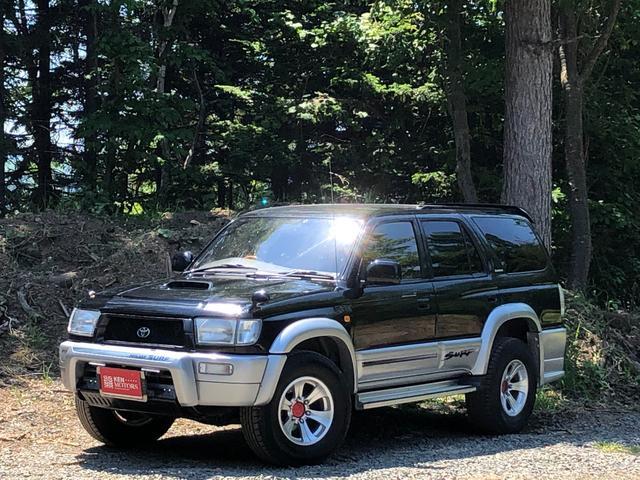 トヨタ ハイラックスサーフ SSR-X インタークーラーターボ ワイド 4WD