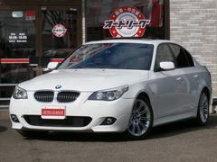 BMW525i Mスポーツ サンルーフ ブラックレザー 電子シフト