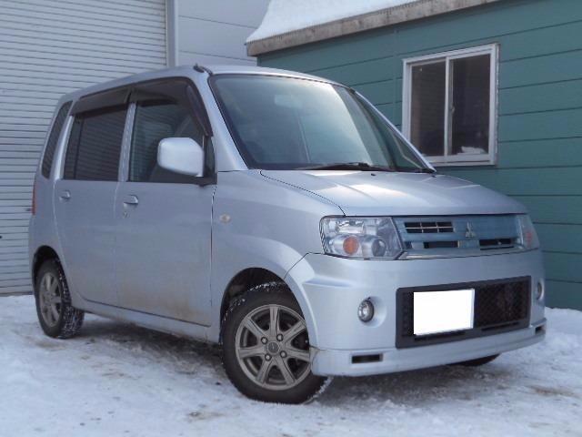 三菱 M 4WD HIDナビ フルセグTV ETC シートヒーター