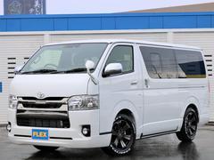 ハイエースバン寒冷地4WD BIGXナビ/ETC FLEX限定色アルミW