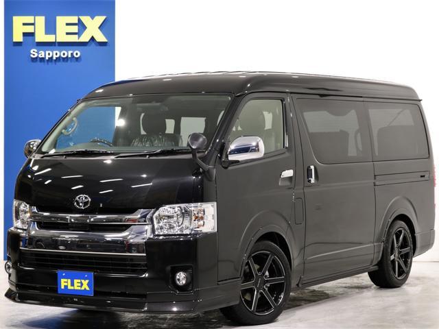 トヨタ FLEXオリジナルフローリング施工 18インチアルミ