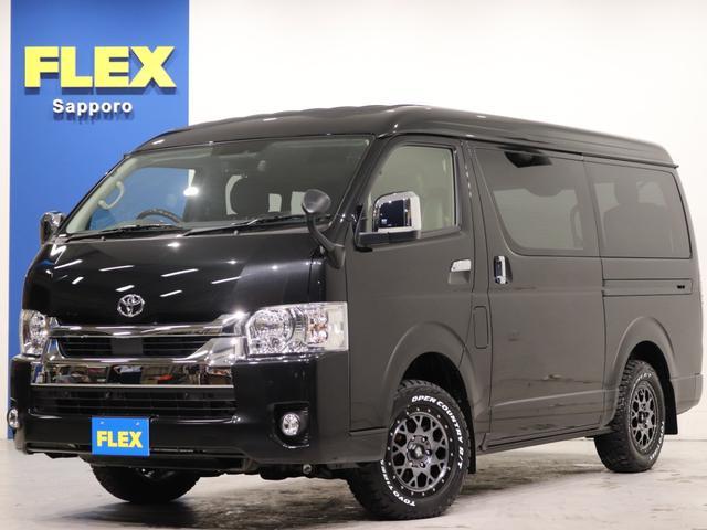トヨタ GL FLEXオリジナル内装架装Ver1 デジタルインナーミラー インテリジェントクリアランスソナー パノラミックビューモニター 寒冷地仕様 パワースライドドア スマートエントリー&スタートシステム