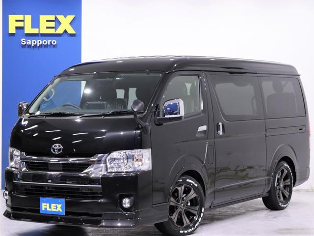 トヨタ GL 内装架装Ver1.5/BIG-Xドラレコ FLEXオリジナルバルベロU17inアルミホイール グッドイヤーナスカータイヤ