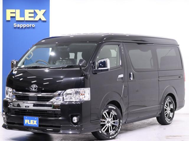 トヨタ  FLEX内装架装ver1 FLEXオリジナルDelf02 17in グッドイヤーナスカータイヤ FLEXオリジナルオーバーフェンダー BIG-X ドライブレコーダー ETC