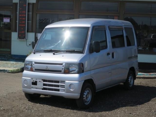 三菱 ミニキャブバン CD 4WD ハイルーフ 両側スライドドア エアコン パワステ