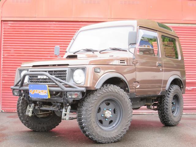 スズキ ジムニー EC パノラミック 4WD オリジナル全塗装 リフトアップ
