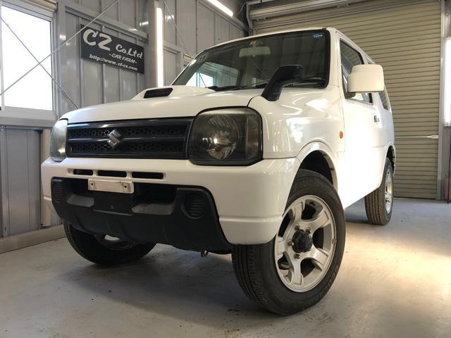 ジムニー XG・4WD・夏冬タイヤ・ターボ・寒冷地仕様・車検整備付