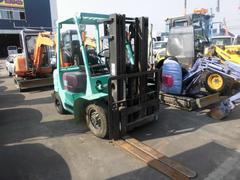 日本三菱フォークリフト 2.5トン ダブルタイヤ