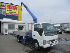 エルフトラック4WD 3段クレーンラジコン 2.33トン吊
