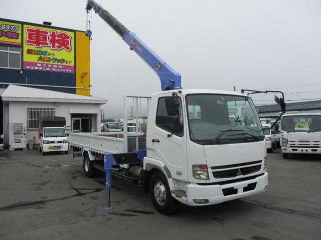 三菱ふそう タダノ 4段クレーン ラジコン 荷台内寸5450 2110