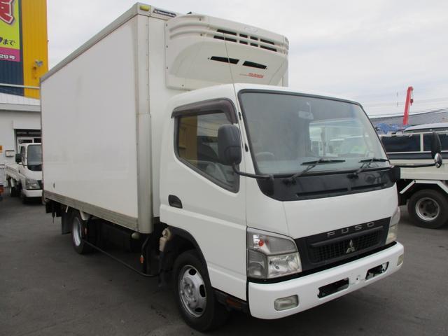 三菱ふそう 4WD 2トン ワイドロング 冷凍冷蔵車 マイナス30℃