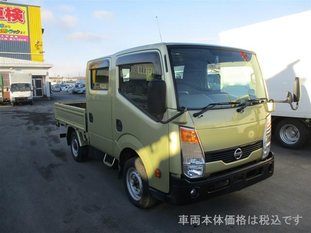 日産 1.15トン 4WD ダブルキャブ リアヒーター