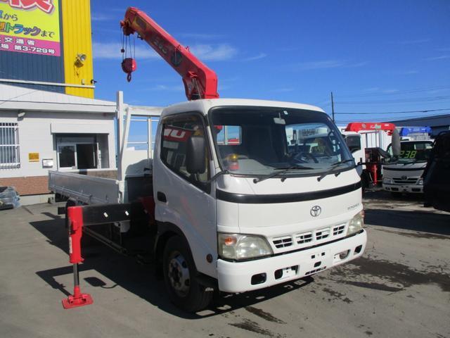 トヨタ 3.5トン 5段クレーンラジコン フルワイド 超ロング