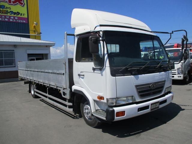 日産ディーゼル 4トン ワイドロング 幌車 積載3700k