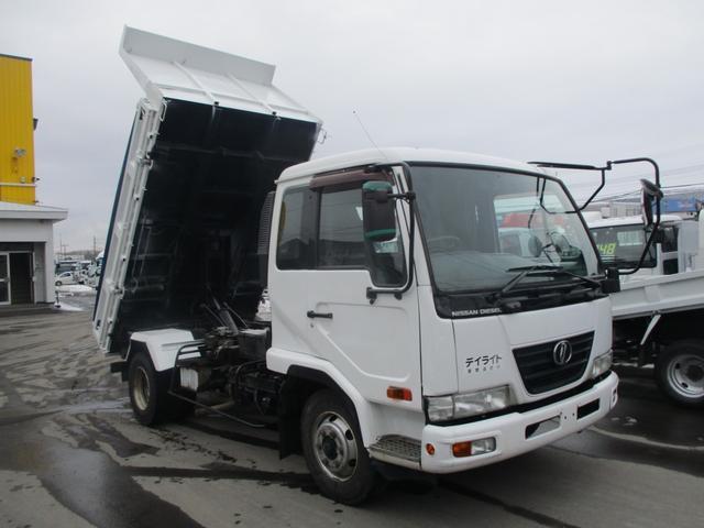 日産ディーゼル 4トン 3転ダンプ 積載3300