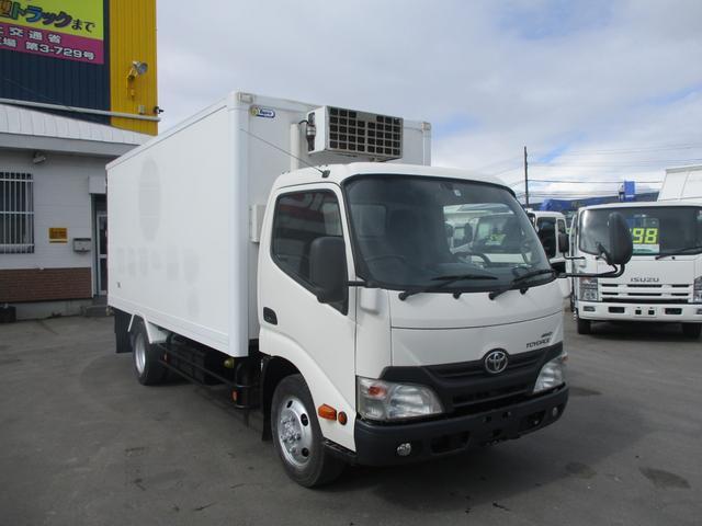 トヨタ 2トン 4WD ロング 冷凍冷蔵車 マイナス30℃設定