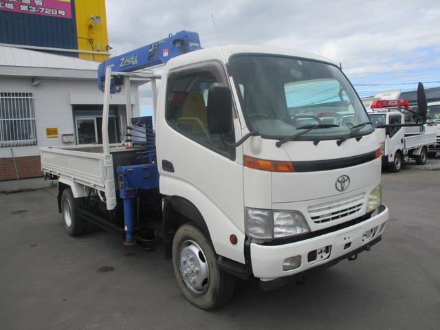 トヨタ 2トン 4WD  タダノ 3段クレーン フックイン