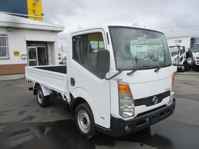日産 アトラストラック 1.4トン 4WD 平ボディ シングルタイヤ 積載1400k 荷台内寸 長さ3100 幅1610