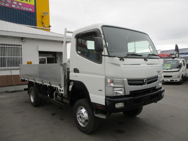 日産 NT450アトラス ロングワイドDX 4WD 高床 荷台内寸 長さ4360 幅2070 床面から荷台高さ1060