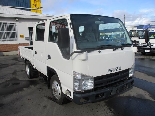 いすゞ エルフトラック 4WD ダブルキャブ 積載1500K リアヒーター