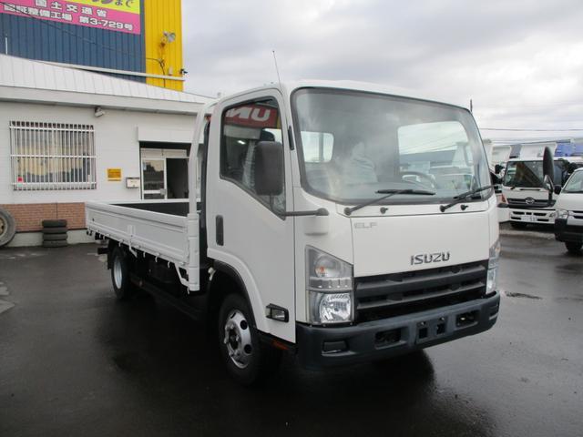 いすゞ エルフトラック 2トン 4WD ワイドロング 積載2000k 荷台内寸 長さ4350 幅2060