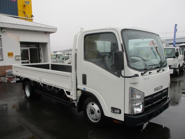 いすゞ エルフトラック 2トン ロング 平ボディ 積載2000k 荷台内寸 長さ4350 幅1800