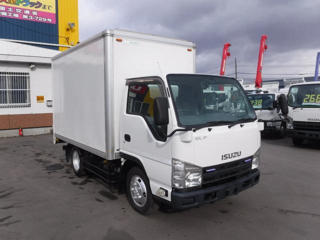 いすゞ エルフトラック 1.5トン 4WD 箱車 アルミバン 荷台内寸 長さ3180 幅1810 高さ1900