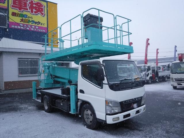 三菱ふそう キャンター 高所作業車 スーパーデッキ 12メートル アイチ