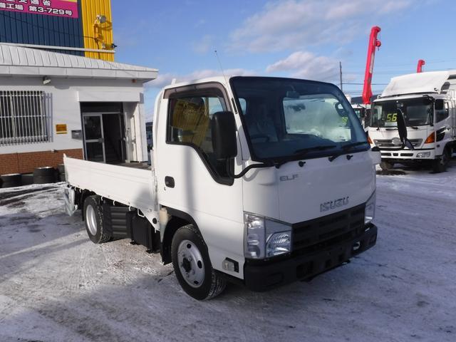 いすゞ 2トン 4WD 平ボディ パワーゲート シングルタイヤ 荷台内寸長さ3050 幅1630