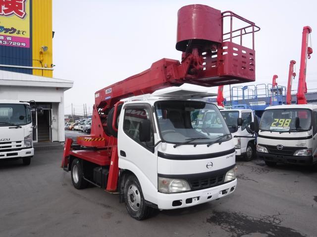 日野 高所作業車 アイチ12メートル アワー8049h