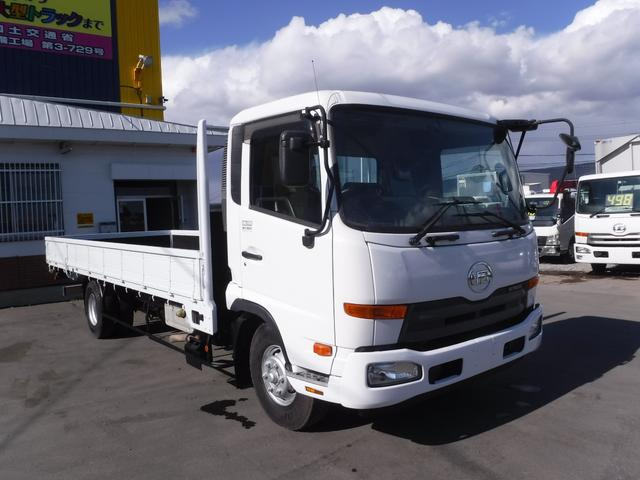 UDトラックス 4トン ワイドロング 平ボディ 積載3750k 荷台内寸長さ6210 幅2370