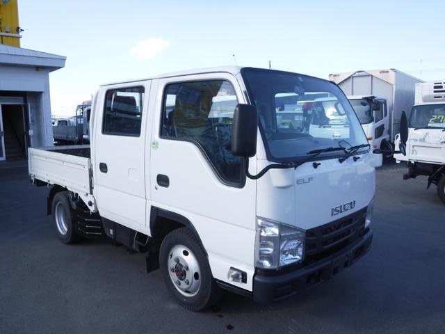 いすゞ エルフトラック 4WD ダブルキャブ リアヒーター