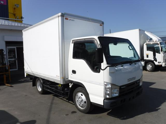 いすゞ 1.5トン 4WD アルミバン 箱車 荷台内寸 長さ3190 幅1810 高さ1890 バックカメラ