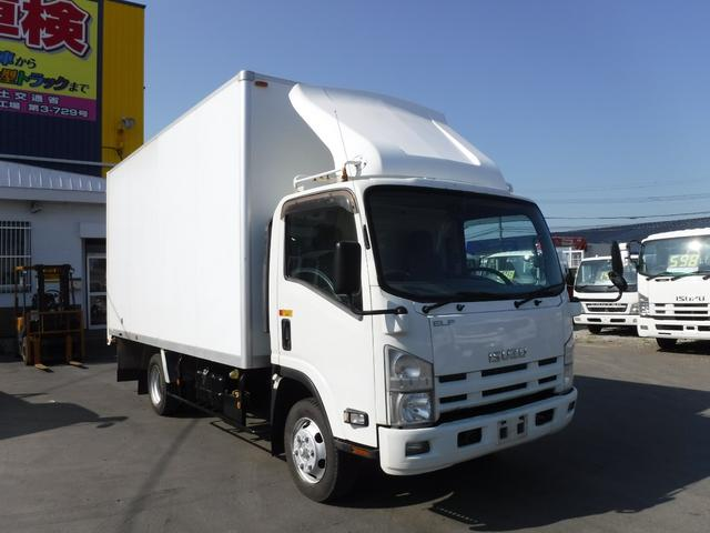 いすゞ 3トン 4WD ワイドロング アルミバン 箱車 荷台内寸 長さ4770 幅2110 高さ2310