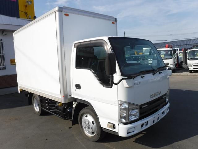 いすゞ 1.5トン 4WD アルミバン 箱車 荷台内寸長さ3190 幅1820 高さ1890 バックカメラ