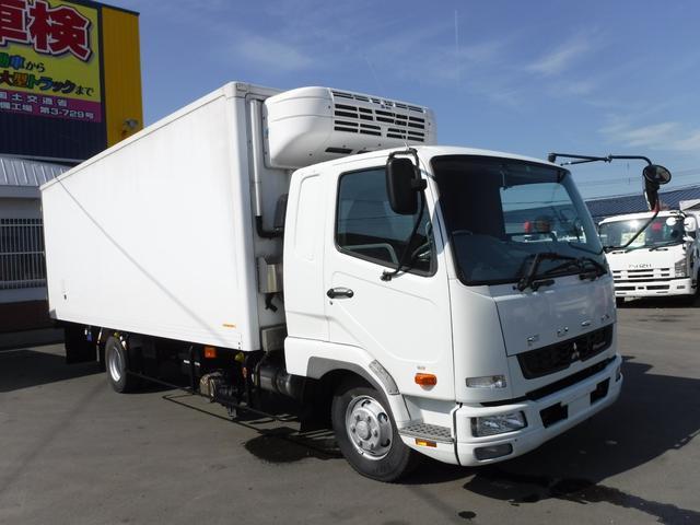 三菱ふそう 4トン 冷蔵冷凍車 マイナス30℃ ベッド ワイドロング 2エバ スタンバイ付き 荷台内寸長さ6230 幅2280 高さ1960 エンジン7500CC