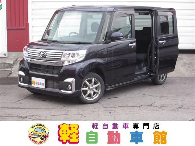 ダイハツ カスタムX 4WD ABS 社外ナビ・TV