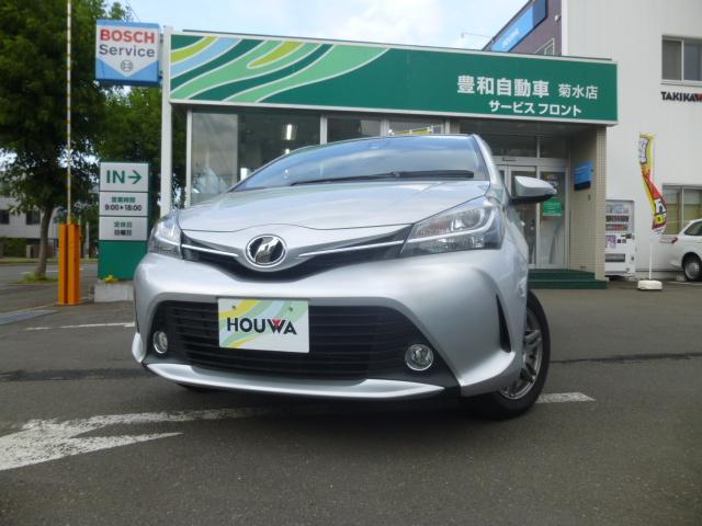 トヨタ 1.3F LEDエディション 4WD 社外ナビ プッシュ