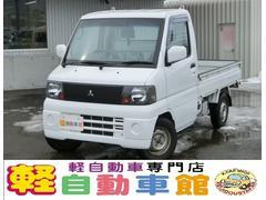 ミニキャブトラックVX−SE エアコン付 マニュアル車 4WD 禁煙車