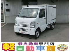 キャリイトラックKCエアコン・パワステ 4WD 冷蔵冷凍車 マニュアル車