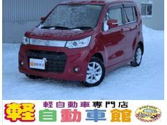 ワゴンRスティングレーX 4WD 純正ナビTV ABS アイドルSTOP スマキー