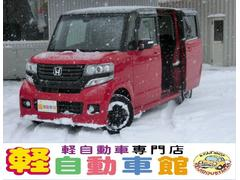 N BOXカスタム2トーンカラーS G・Aパッケージ 4WD ナビTV ABS