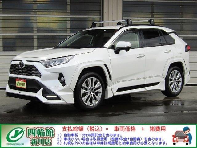 トヨタ RAV4 G Zパッケージ AWD 予防安全 TRD ナビ 純エンスタ