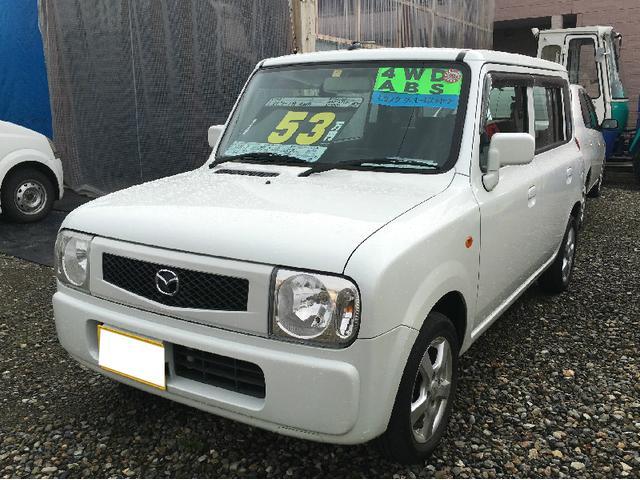 マツダ G 4WD キーレス エンスタ CD 社外アルミ