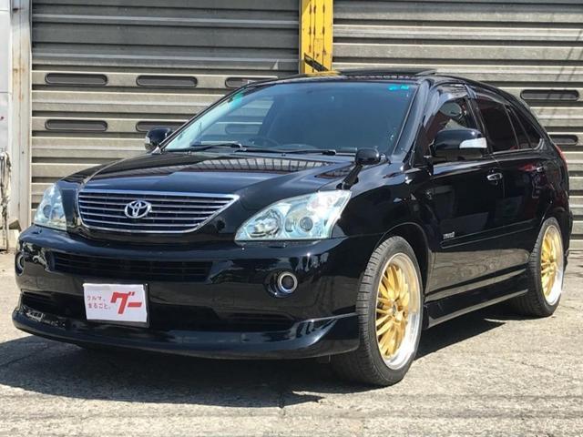 トヨタ プレミアムSパッケージ 4WD エアロ ナビTV 20AW