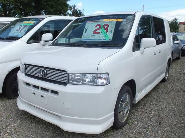ホンダ W 4WD 社外ナビ 左パワースライド 純正エアロ