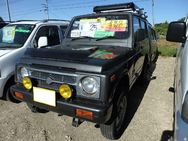 ジムニー 4WD ターボ 5MT